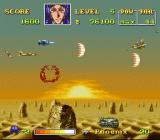 U.N. Squadron SNES Fighting over the desert