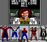 Spider-Man X-Men: Arcade's Revenge Game Gear Cut-scene
