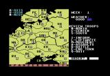 Panzers East! Commodore 64 Battle space/map