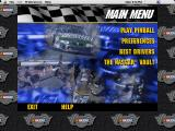 3-D Ultra NASCAR Pinball Macintosh Main menu