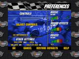 3-D Ultra NASCAR Pinball Macintosh Preferences