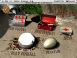 3-D Ultra Pinball: The Lost Continent Macintosh Main menu
