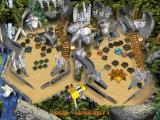3-D Ultra Pinball: The Lost Continent Macintosh Balls captured in Teradactyl nest center top