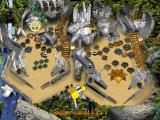 3-D Ultra Pinball: The Lost Continent Macintosh Again MultiBall 3 in play