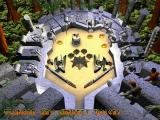 3-D Ultra Pinball: The Lost Continent Macintosh mini-game start - save the girl in center