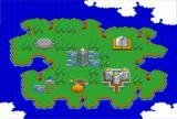 Super Bomberman SNES Overview of Island
