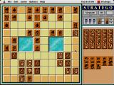 Stratego Macintosh Or game tiles - Wood