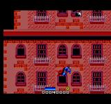 Superman: The Man of Steel SEGA Master System Round 1, stage 2: Fly up the building and avoid flying enemies and things thrown at you.