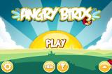 Angry Birds iPhone Title screen