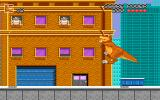 We're Back!: A Dinosaur's Story DOS Rex can climb buildings