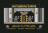 Defenders of the Earth Commodore 64 Title