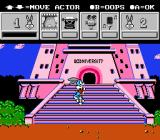 Tiny Toon Adventures: Cartoon Workshop NES Placing the animation of Buster