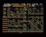 Castlevania Chronicles PlayStation (Arrange Mode) Destroying candles will get you either some bonus, weapon upgrade or and item.