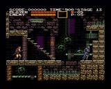 Castlevania Chronicles PlayStation (Arrange Mode) Don't go too close to skeletons, they reach almost as long as your whip.