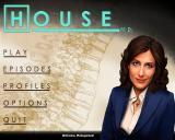 House M.D. (Collector's Edition) Windows Main menu