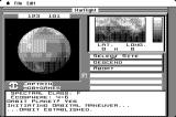 Starflight Macintosh Orbiting Class F planet and preparing for landing site