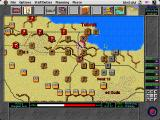 Operation Crusader Macintosh Begin turn based play and unit placement or movement