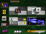 F1 Manager Professional DOS Team selection