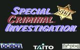 Chase H.Q. II: Special Criminal Investigation Commodore 64 Title