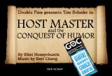 Host Master and the Conquest of Humor Browser Title screen