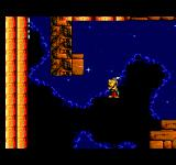 Astérix and the Great Rescue SEGA Master System Standing on an invisible platform