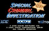 Chase H.Q. II: Special Criminal Investigation Amiga Title