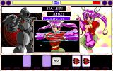 Kakutō Musume Ryoko PC-98 Aiko has goofy attacks. Hope they will damage the damn robot...