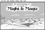 Might and Magic: Book One - Secret of the Inner Sanctum Macintosh Title