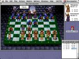 The Chessmaster 3000 Macintosh Chessmaster already has check
