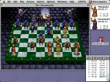 The Chessmaster 3000 Macintosh Try to draw out the queen