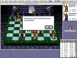 The Chessmaster 3000 Macintosh Five moves later.... its checkmate!