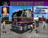 Eighteen Wheeler: American Pro Trucker PlayStation 2 Trucker selection.