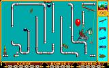 The Incredible Machine PC-98 Monkey labor... that's against monkey rights!..