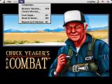 Chuck Yeager's Air Combat Macintosh Select from several type of flying from missions, test flights, and head to head on Mac