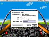 Chuck Yeager's Air Combat Macintosh Options for head to head and screen performance