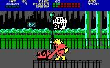 Bad Street Brawler DOS Tickle the dog to defeat it