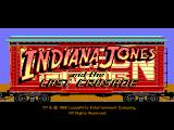 Indiana Jones and The Last Crusade: The Graphic Adventure Macintosh Title