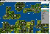 Sid Meier's Civilization Windows 3.x Game map in Windows XP