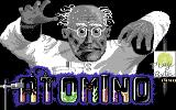 Atomino Commodore 64 Title screen