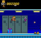 Super Air Zonk: Rockabilly-Paradise TurboGrafx CD ...locker rooms with explosive presents...