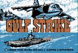 Gulf Strike Apple II Loading splash screen