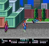 Double Dragon II: The Revenge TurboGrafx CD Yes, I'm talking to you. This here is public park. No place for scum like you. Let's keep the planet green. Excluding your vomit, naturally