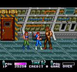 Double Dragon II: The Revenge TurboGrafx CD Great. I fought punks, but this here is a.. a... err... um... very big punk!