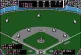 MicroLeague Baseball Apple II Game start top of the 1st