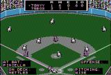 MicroLeague Baseball Apple II Computer 3 to 1 top of the 6th