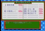 Tokimeki Memorial TurboGrafx CD ...and receive grades for them, depending on your stats