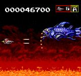 Sagaia TurboGrafx CD Fighting a big blue fish!