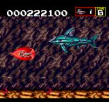 Sagaia TurboGrafx CD I'm turning red because of all those fishes... the battle is taken to a cave