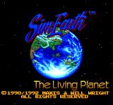 SimEarth: The Living Planet TurboGrafx CD Title screen
