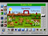 SimEarth: The Living Planet TurboGrafx CD Biosphere Model. Look at those cute deers :)